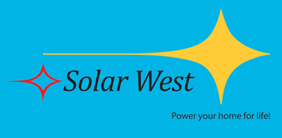 Solar West Blue Logo