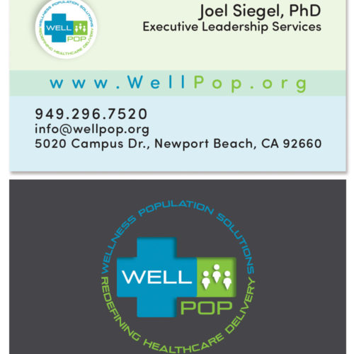 Wellpop Business Card