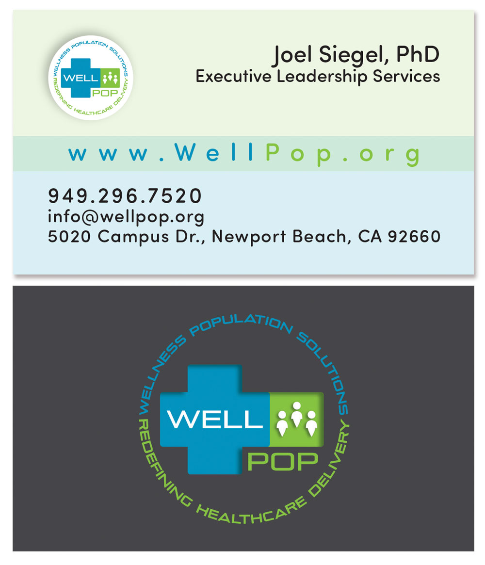 Wellpop business card joel siegel phd wellpop business card colourmoves